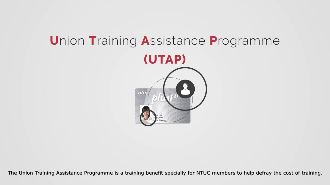 NTUC Union Training Assistance Programme UTAP funded Courses from