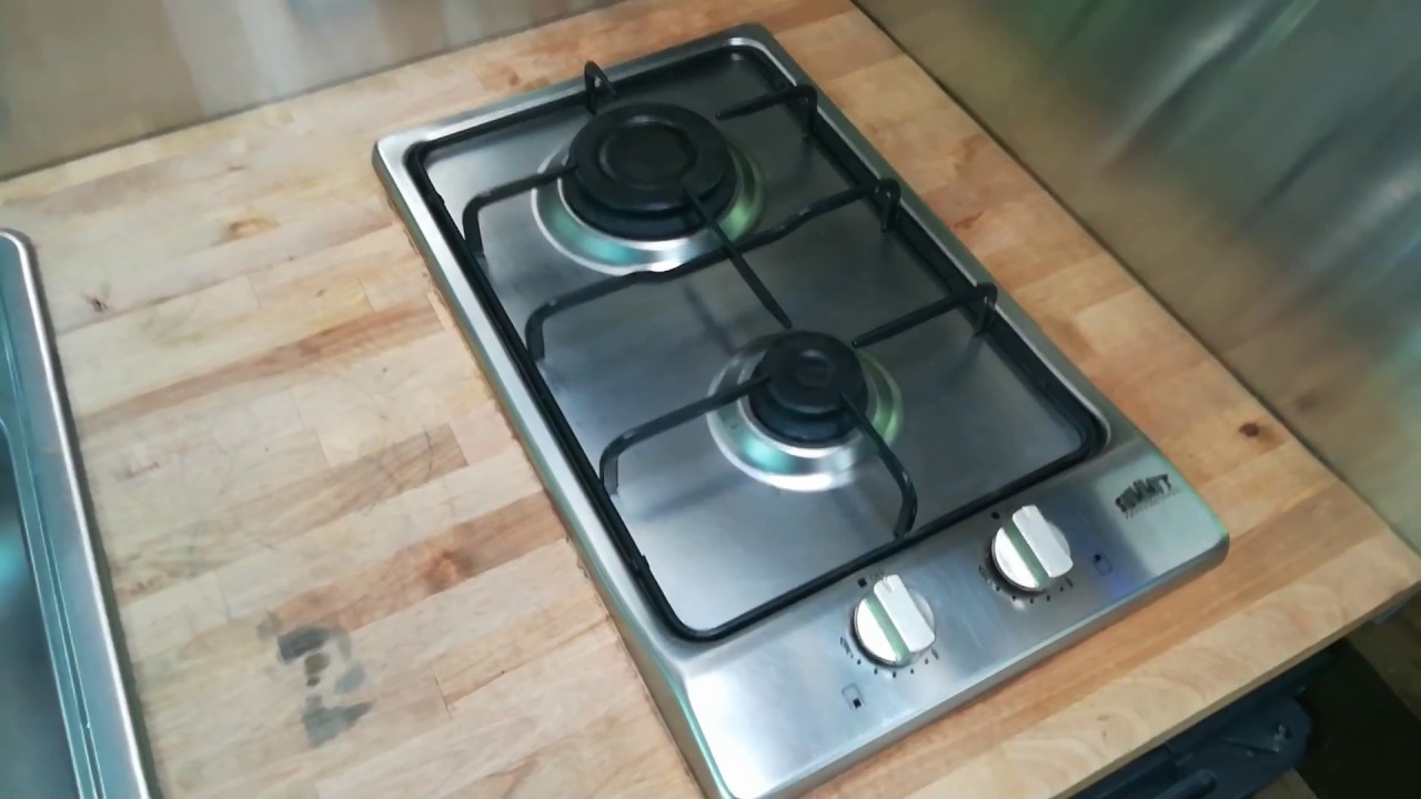 2 Burner Propane Cooktop Summit Gc22ss Review