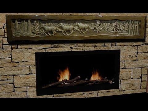 beautiful stone fireplaces. How To Make Beautiful Stone Fireplace With Wood Mantel  YouTube