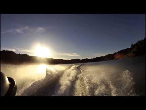 Winter Jetski at Lake Berryessa