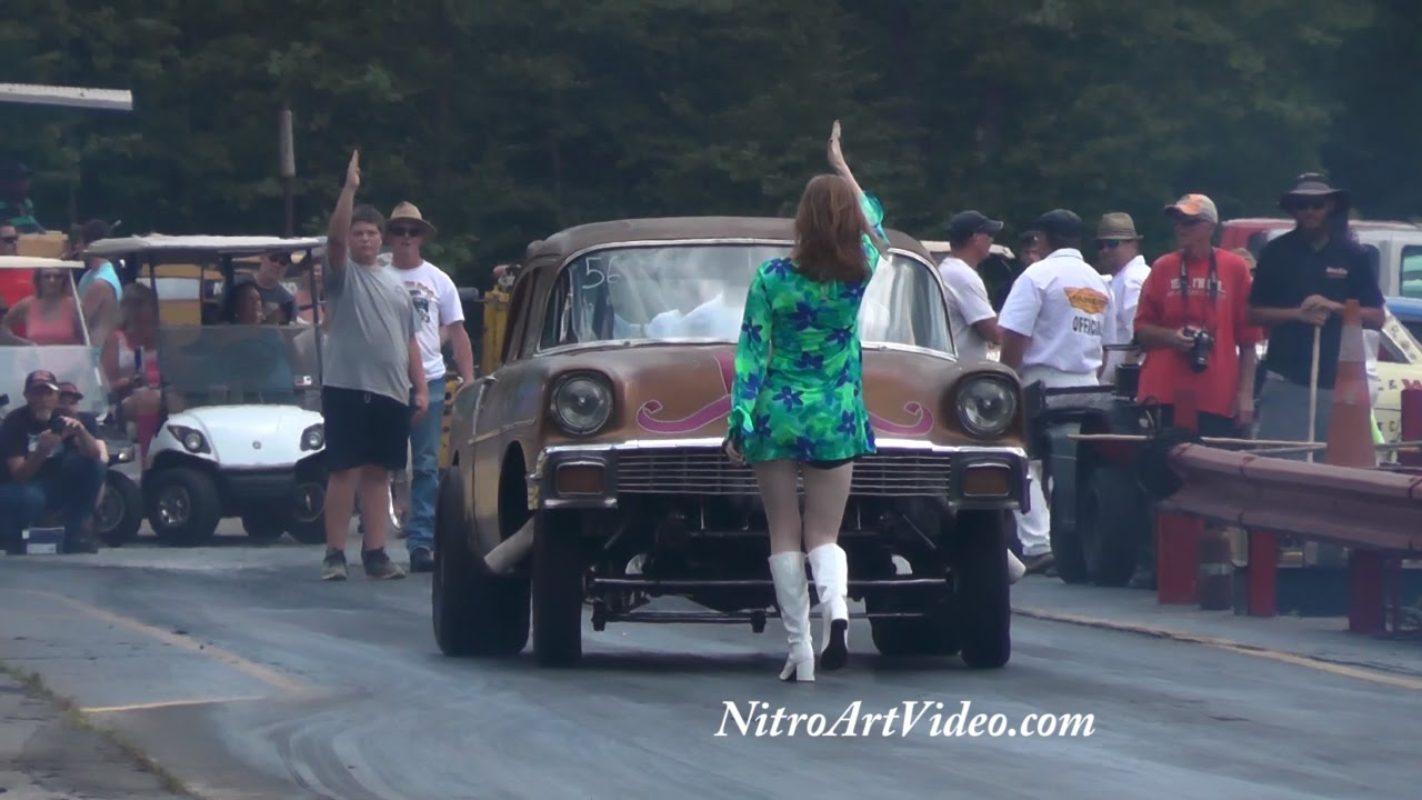 Shady Side Dragway, Southeast Gassers Association (N/T) No Time Drag Racing  Heads Up