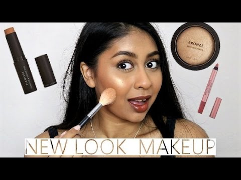 Trying NEW LOOK Makeup! Foundation Stick First Impression