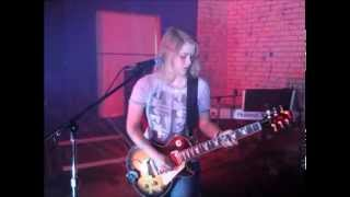 melody kiser rock and roll led zeppelin cover