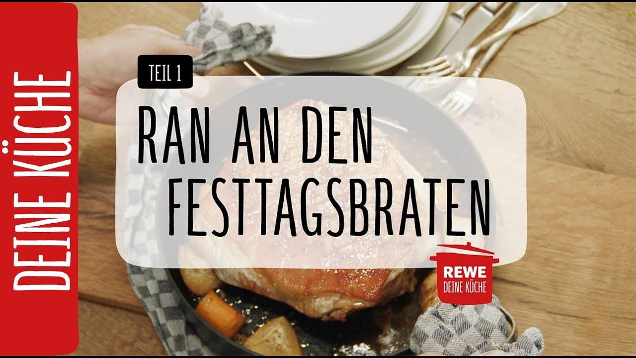 Ran an den Festtagsbraten - Teil 1: Schweinebraten | REWE Deine ...