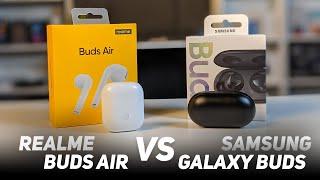 Perbandingan realme Buds Air vs Samsung Galaxy Buds
