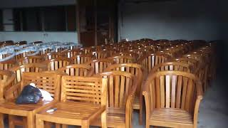 Garden Furniture Indonesia - Teak Chairs and Teak Tables Dining Set VIXIDesign.com