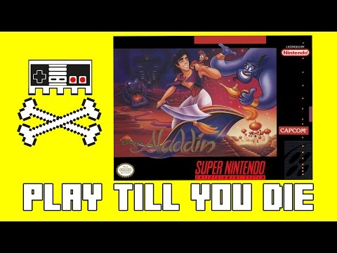Retro Games SNES  Disneys Aladdin October 2016