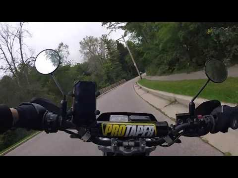 Honda CRF230M Supermoto GoPro Rip