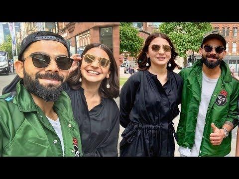 Virat Kohli Chills With Wife Anushka Sharma In Manchester Before World Cup 2019 Semi Final Mp3