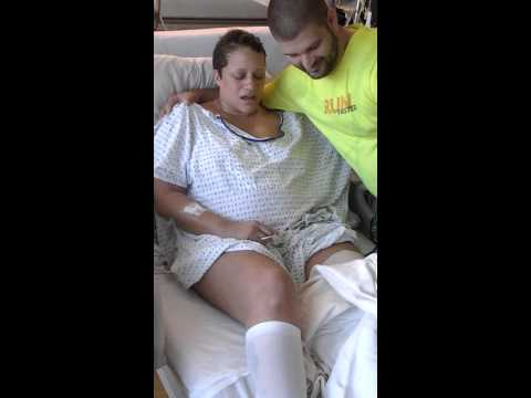 First look at her Leg Amputation due to cancer