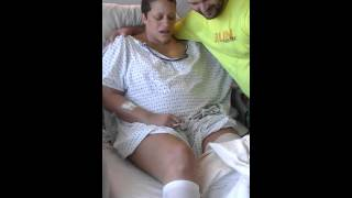 Repeat youtube video First look at her Leg Amputation due to cancer