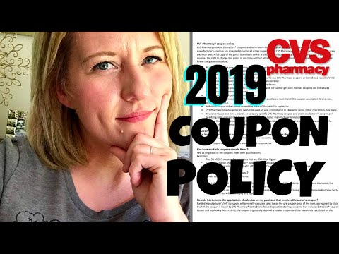 CVS COUPON POLICY 2019 BIG CHANGES in 2019?