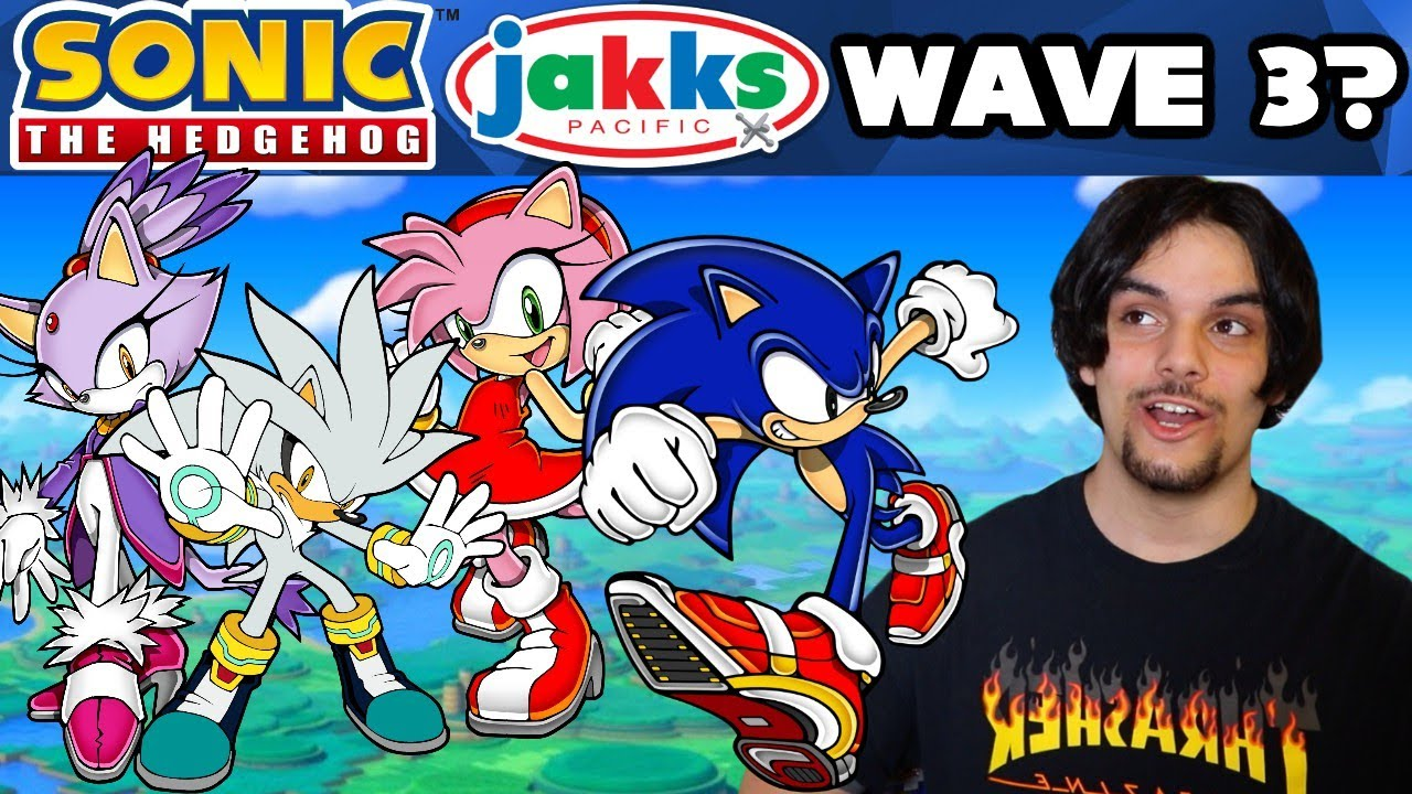 What Will Sonic The Hedgehog Jakks Pacific Wave 3 Be Youtube
