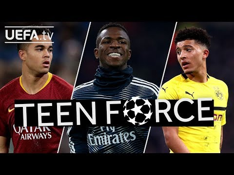 KLUIVERT, VINÍCIUS JÚNIOR, SANCHO: Five PROMISING TEENAGERS to watch in the #UCL!!