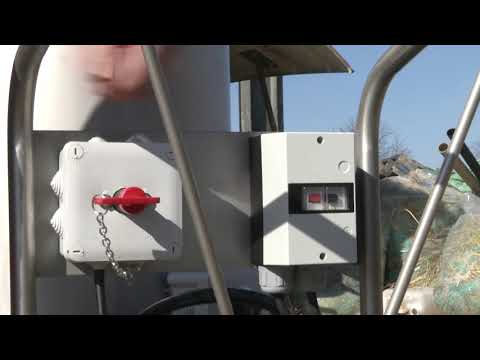 Le chariot distributeur à lait de Beiser Environnement