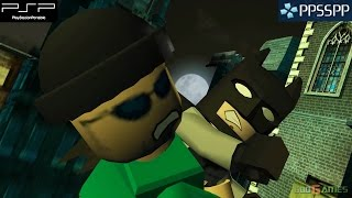 Lego Batman: The Videogame - PSP Gameplay 1080p (PPSSPP)(Lego Batman: The Videogame - PSP Gameplay 1080p (PPSSPP) Visit us at http://www.godgames-world.com for more Lego Batman: The Videogame is an ..., 2015-05-12T18:11:46.000Z)