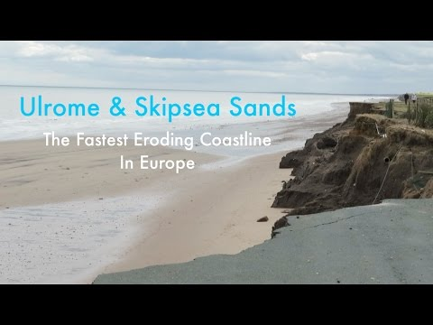 The Fastest Coastal Erosion In Europe | Holderness Coastline | Ulrome & Skipsea Sands Holiday Park