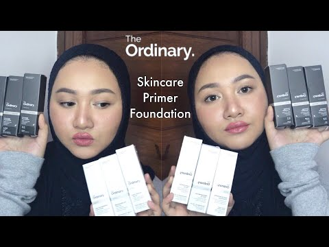 Cobain Foundation & Skincare The Ordinary | Bahasa Indonesia | Diendiana
