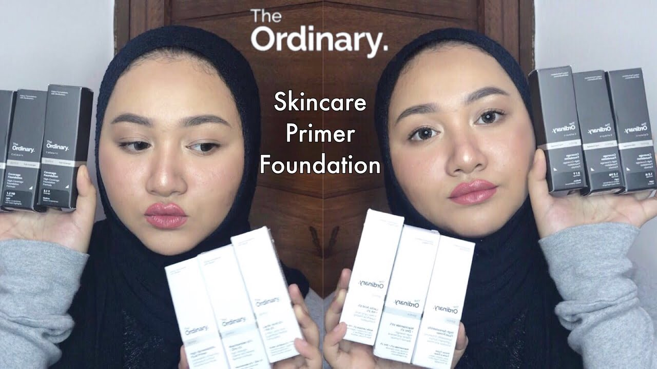 Cobain Foundation Skincare The Ordinary Bahasa Indonesia Diendiana Youtube