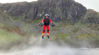 video: Paramedics could arrive by jetpack after Lake District trial cuts response time to 90 seconds