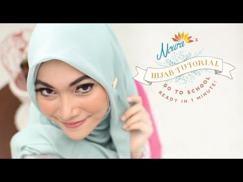 Tutorial Hijab | Go to School by Laili NOURA
