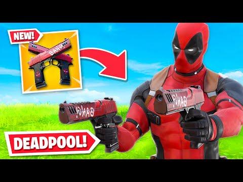 *NEW* DEADPOOL UNLOCKED In Fortnite! (Deadpool Pistols, Skin + MORE)