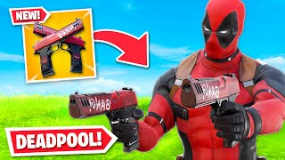 *NEW* DEADPOOL UNLOCKED in Fortnite! (Deadpool Pistols, Skin + MORE)
