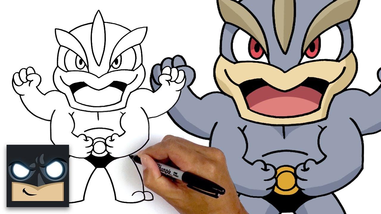 How To Draw Machamp | Pokemon