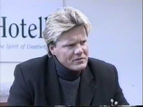 Dieter Bohlen's Interview during concert in Estonia 21.03.1998, part 1