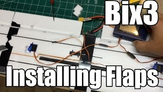 How to install Flaps on the BIX3 / Bixler 3