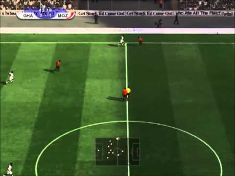 PES 2012 | Ghana - Mozambique | Africa Cup of Nations 2013 Group B Matchday 1