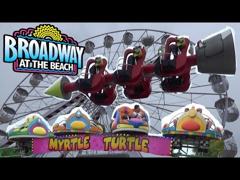 The Rides at Broadway At The Beach (Pavillion Park) Tour & Review