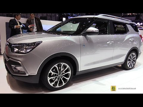 2017 Ssang Yong XLV - Exterior and Interior Walkaround - 201