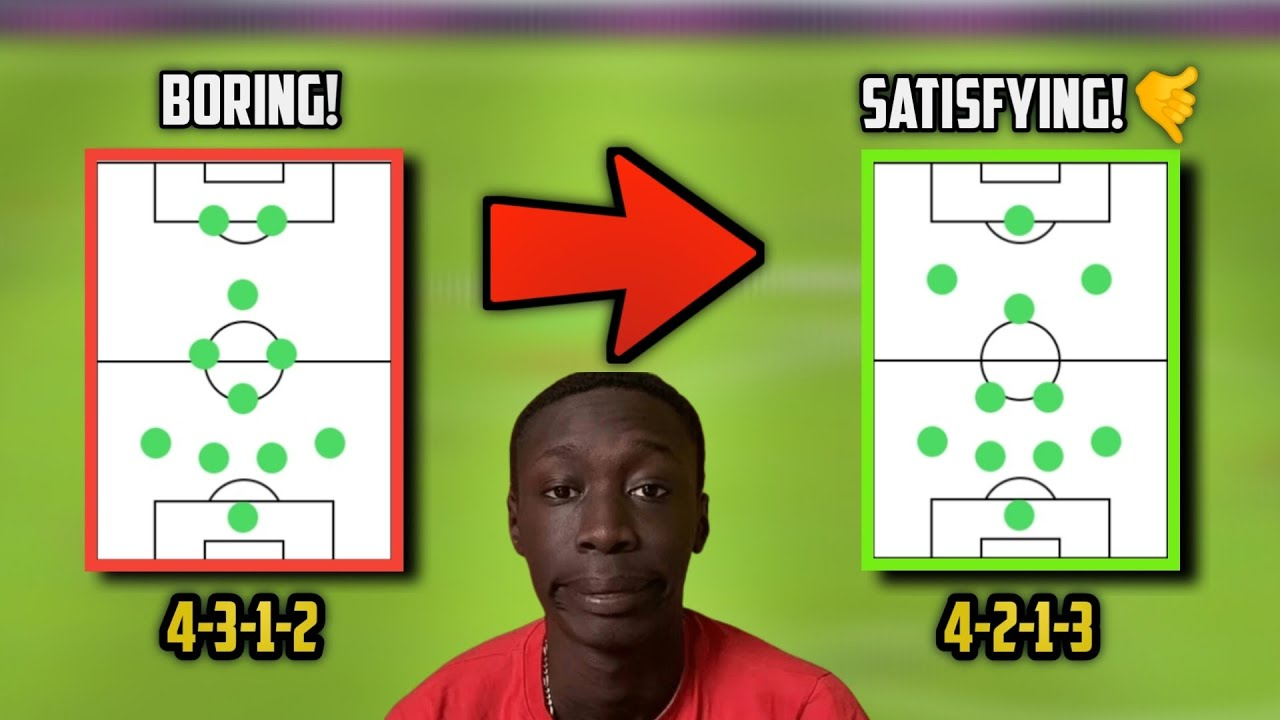 This is Why I Switched To 4-2-1-3 from 4-3-1-2 • Tips and Advantages | Pes2021