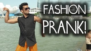Fashion Shoot Without Clothes PRANK in Singapore!!