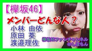 【欅坂46 応援ファンチャンネル】 欅坂46 勝手に応援団長のしほちんです...