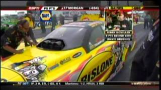 Jack Beckman Paul Lee Terry McMillen Update interview FC Rnd1 Eliminations MacTools US Nationals 2011
