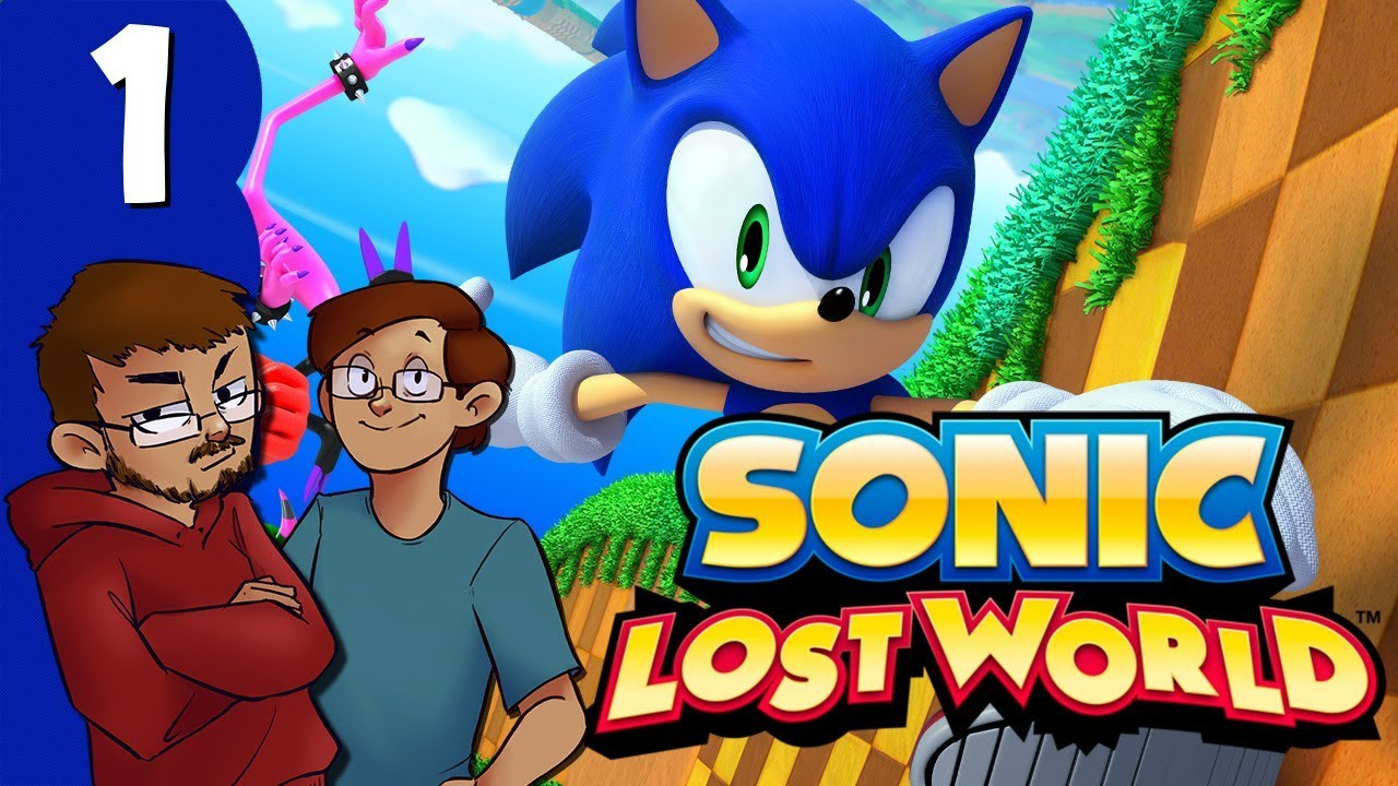 Let's Play: Sonic Lost World - Part 1 - Oh Good, More Sonic