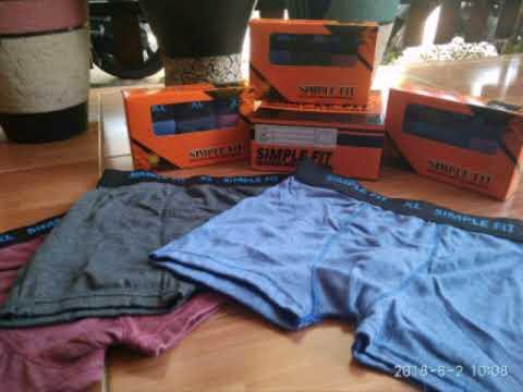 2464a8489 simple fit boxer murah - 0812333926989