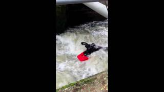 WhiteWater Action Medway  Kayaking Yalding 6-11-11