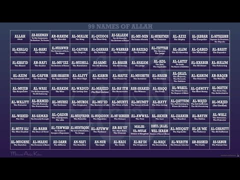 99 Names of God | Exploring Sufism