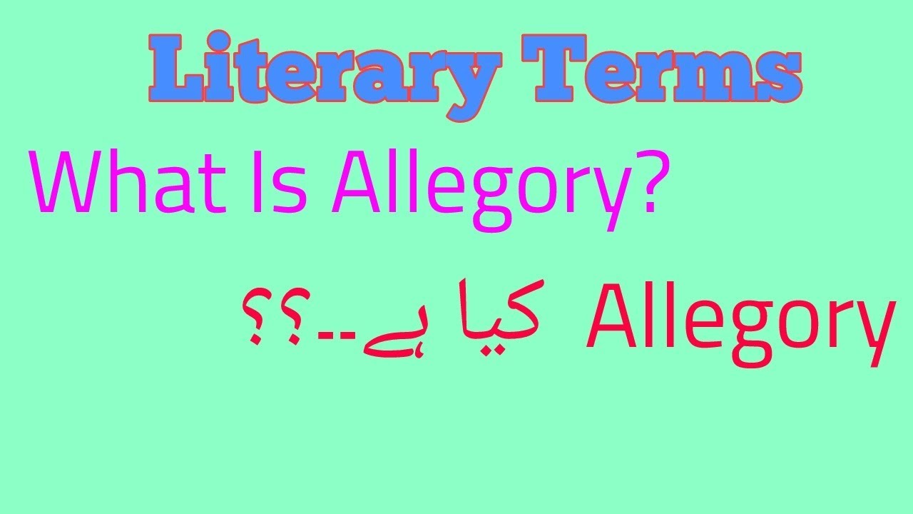 What is allegory 80