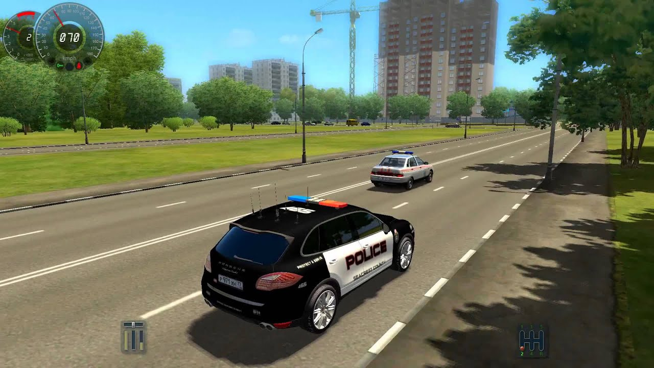 City Car Driving 1 2 5 Police Car Porsche Cayenne Turbo 2012 Hd 1080p Youtube