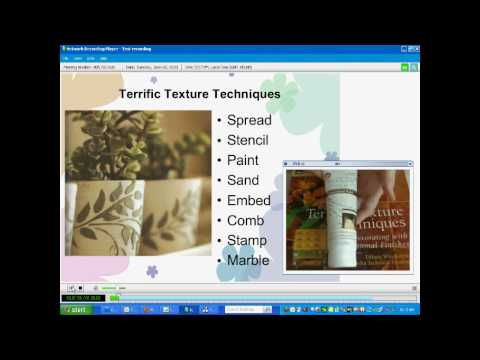 Cool2Craft - Terrific Texture Techniques On-Demand Class by Tiffany Windsor