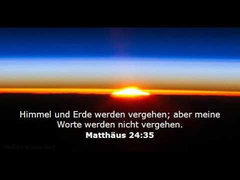 Mein Zeugnis (christlicher Glaube), die Bibel - Gottes Wort, Matthäus 24, 2. Kommen von Jesus