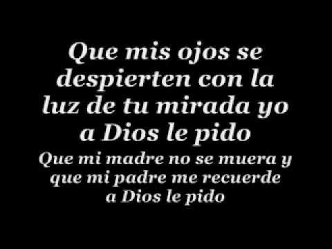 A Dios Le Pido - Juanes » English Translation - YouTube