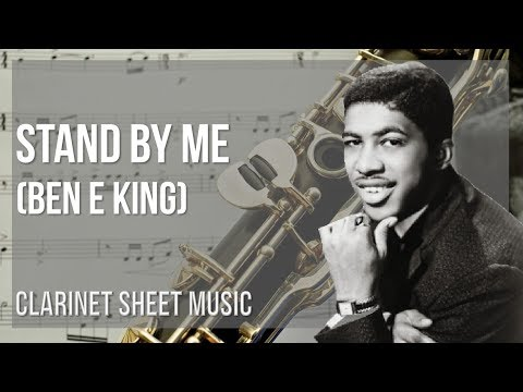 EASY Clarinet Sheet Music: How to play Stand By Me by Ben E King