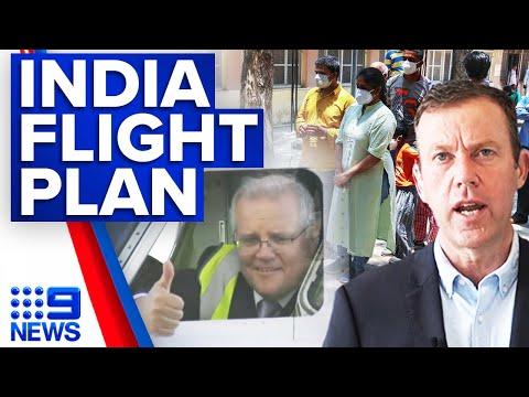 Coronavirus: India repatriation flights to prioritise most vulnerable   9 News Australia