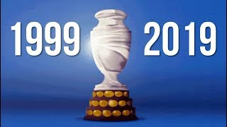 1999-2019 ALL COPA AMERICA FINALS