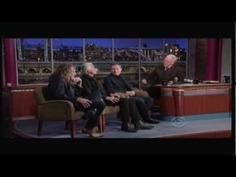 Led Zeppelin - David Letterman (Full Interview) - 2012.12.03